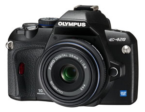 Olympus E420 25mm