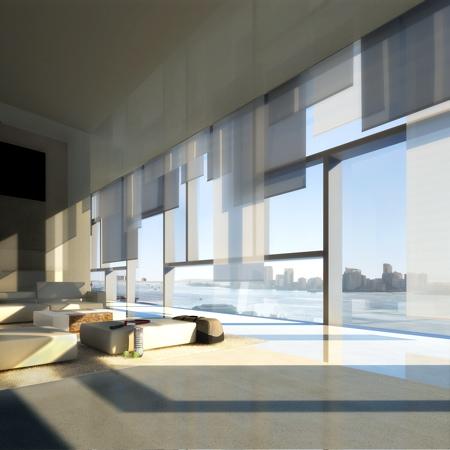 Vue intérieure d'un appartement