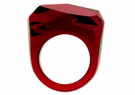 arik levy bague baccarat tendance diamant polygone