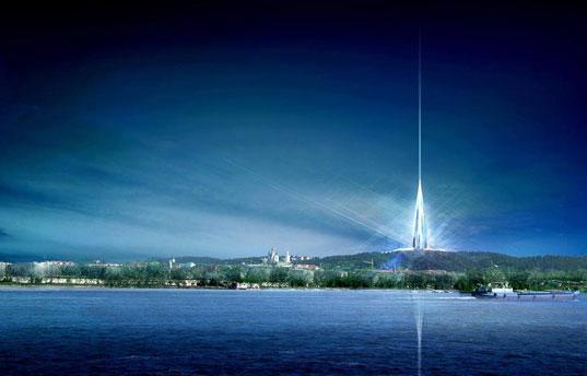 Norman Foster architectes tour Sibérie