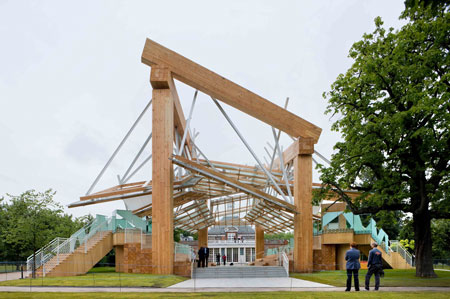 Franck Gehry Serpentine Gallery 2008