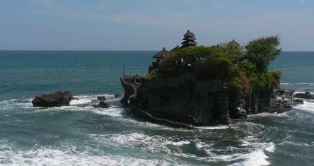 Le temple Tanah Loth