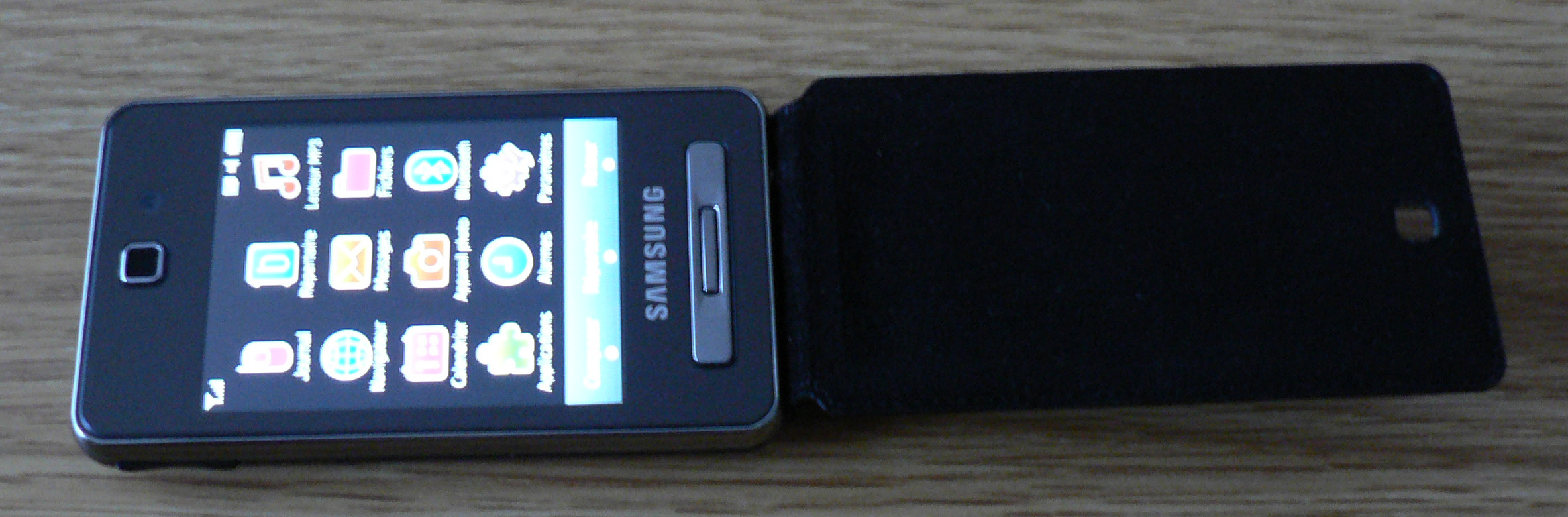 Samsung F480 Player style test review avis
