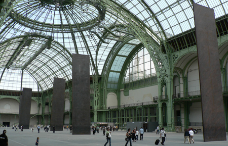 Richard Serra Promenade Paris Grand Palais