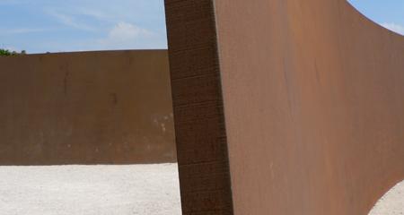 Richard Serra Clara Clara Paris jardin des Tuileries