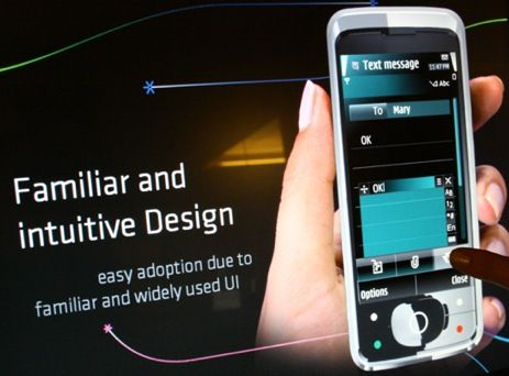 S60 Nokia Symbian Touch UI