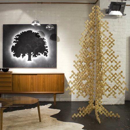 Buro North PLywood Christmas tree / sapin de Noël en contre plaqué