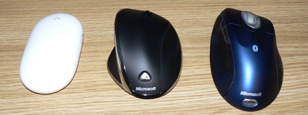 Test : Wireless laser mouse 7000 Apple Mighty Mouse Wireless Intellimouse Explorer Bluetooth