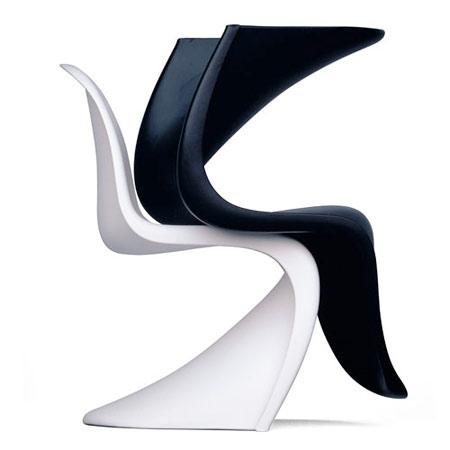 bon plan chaises panton chez d co smart diisign. Black Bedroom Furniture Sets. Home Design Ideas