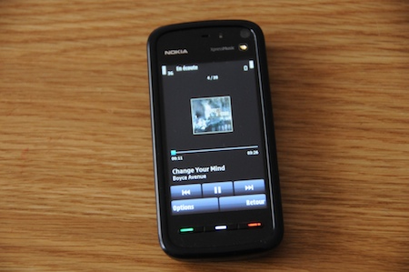 Test Nokia 5800 Xpress Music lecteur mp3