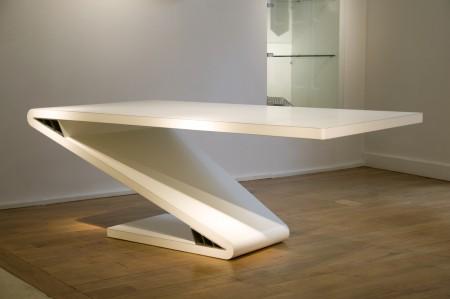 Table Vincent Poujardieu designer's days 2009 Artcurial Euroshelter