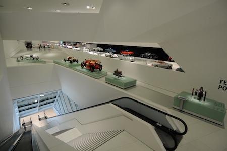Visite du musée Porsche de Stuttgart