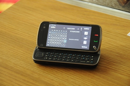 Nokia N97 clavier