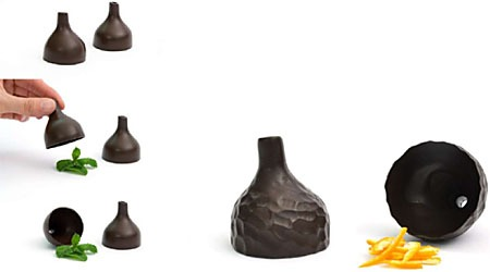 Germain Bourré les cloches chocolat