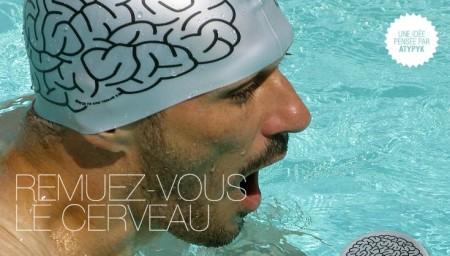 Atypyk bonnet de bain cerveau