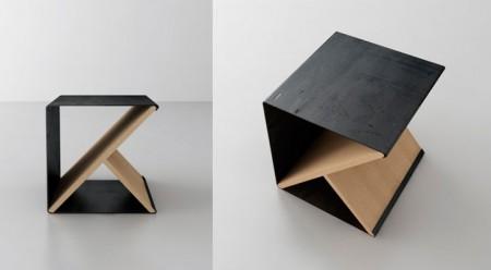 noon studio Pelegrin Gautier Taiani Vincent tabouret Steel