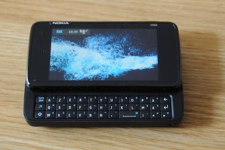 Test Nokia N900 clavier rétroéclairé