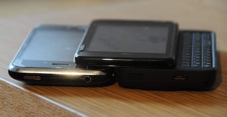 Test Nokia N900 contre iPhone 3G