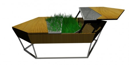 Table basse Un Jardin En Ville diisign