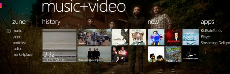 windows phone 7 music video hub