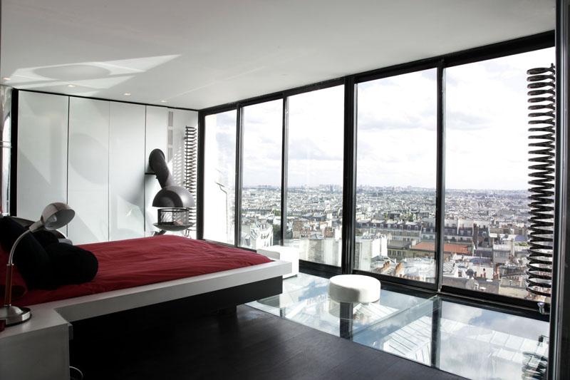 Starway to heaven visite d 39 un appartement d 39 exception for Appartement sur les toits paris