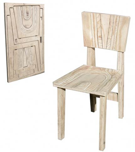 Le meuble en kit pliant by montage de meuble for Chaise 98 edouard francois