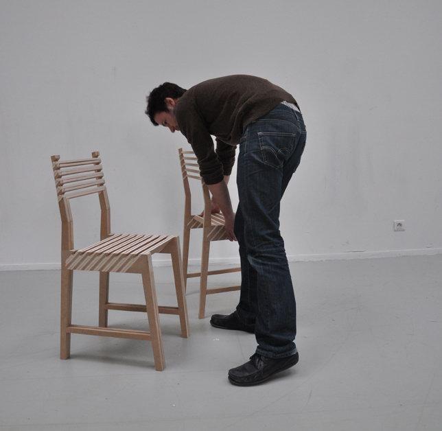 Triplette la chaise qui se multiplie diisign - Chaise qui se balance ...