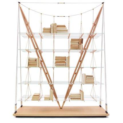 Cassina r dite la biblioth que veliero de franco albini for Franco albini architetto