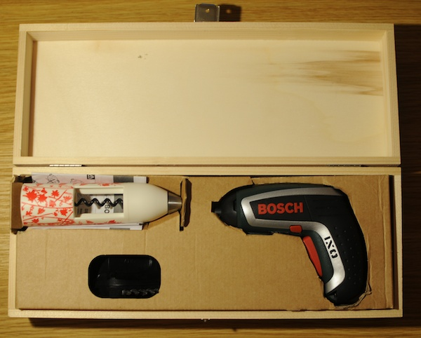 test bosch ixo vino le bricolage table aussi diisign. Black Bedroom Furniture Sets. Home Design Ideas