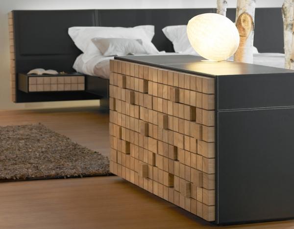 Edition française kann et turriniby font dans le bloc de bois