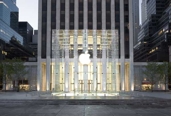 Architecture d'un apple store la non boutique