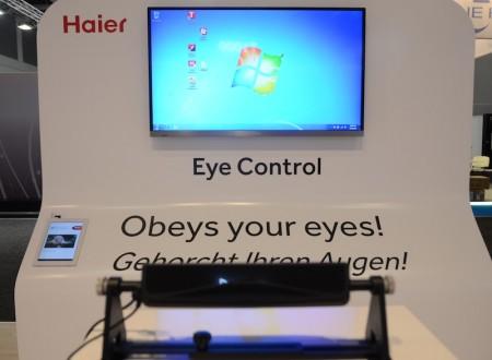 [IFA 2012] Après les gestes et la voix, si on commandait la TV par le regard?