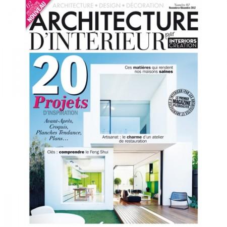 [cadeau] Architecture d'intérieur vous fait gagner 5 pack de magazines