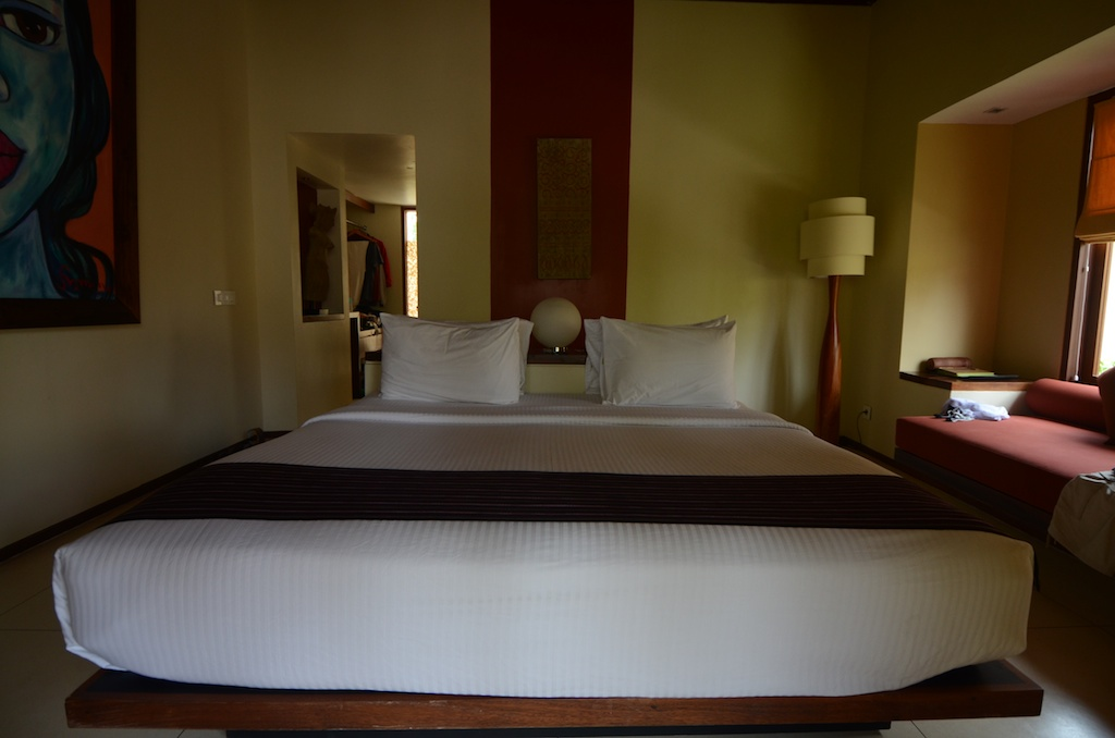Qunci Villas lombok test review avis chambre