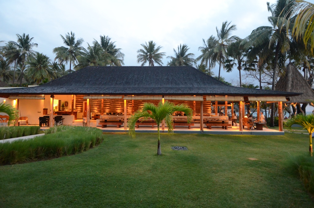 Qunci Villas lombok test review avis restaurants