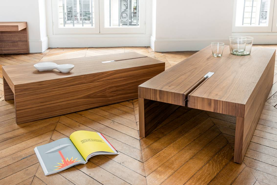 Meubles design en bois for Meuble design
