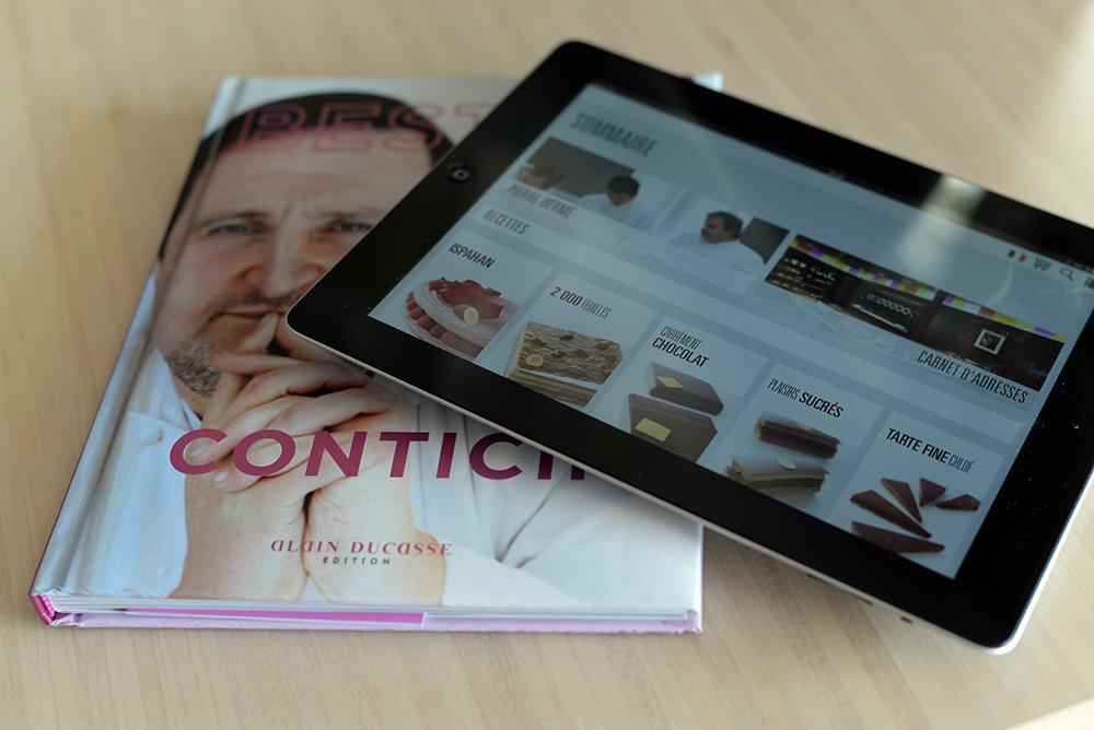 livre Best of Conticini app Best of Hermé