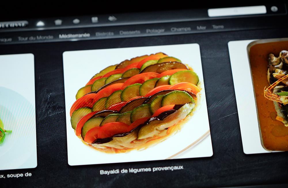 App Ducasse Grand Livre de Cuisine