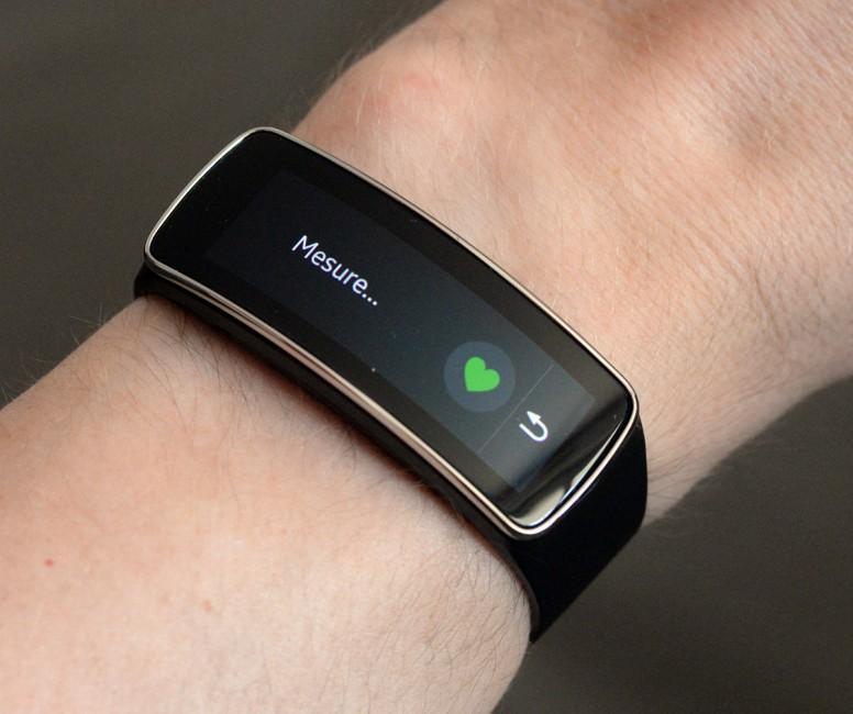 [test]Samsung Gear Fit : entre capteur d'activité et smart ...