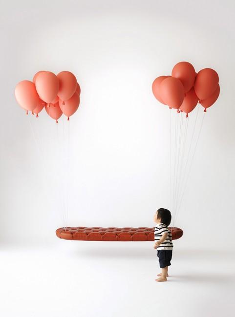 Balloon bench kodomo
