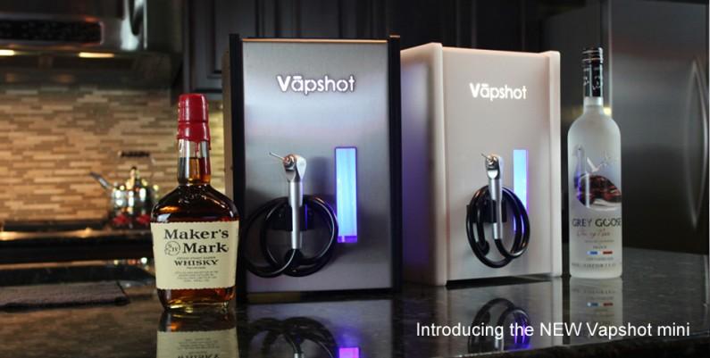 Vapshot : inhaler, c'est mieux que picoler. Ou pas.