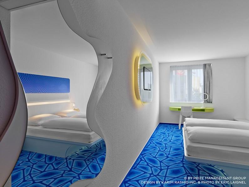 Prizehotel Hambourg : l'hôtel selon Karim Rashid, à prix ultra serré