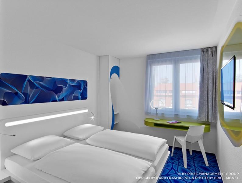prizeotel Hamburg-City - design by Karim Rashid Inc. & Photo by Eric Laignel