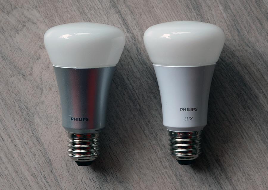 test rapide philips hue lux l ampoule hue abordable mais limit e diisign. Black Bedroom Furniture Sets. Home Design Ideas