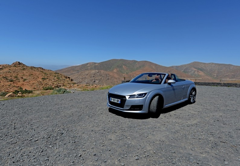 [test] Audi TT Roadster : coup de maître
