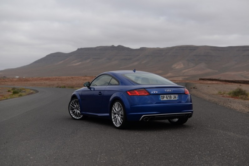 [test] Audi TTS coupé 2015 : efficace
