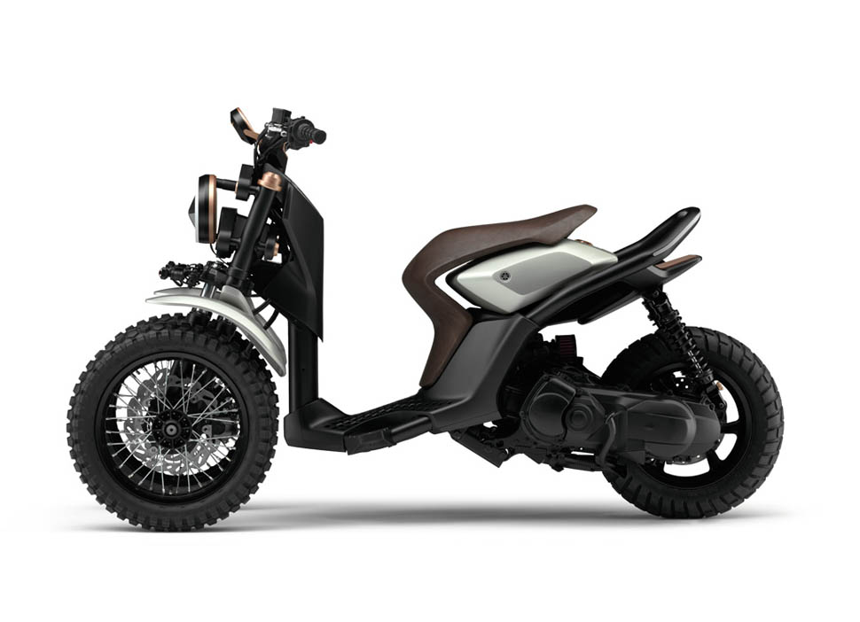 yamaha 03gen x le scooter 3 roues qui n 39 a pas oubli le style diisign. Black Bedroom Furniture Sets. Home Design Ideas