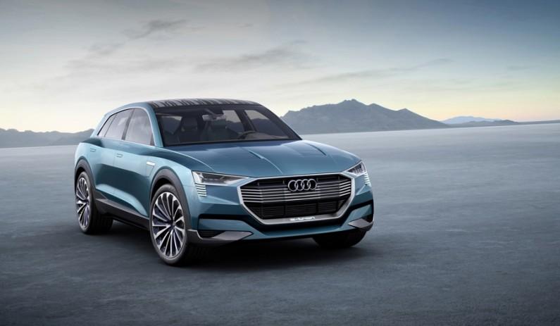 [Francfort 2015] Un Audi e-tron Quattro Concept aux airs de Q6