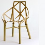 Bamboo chair— small