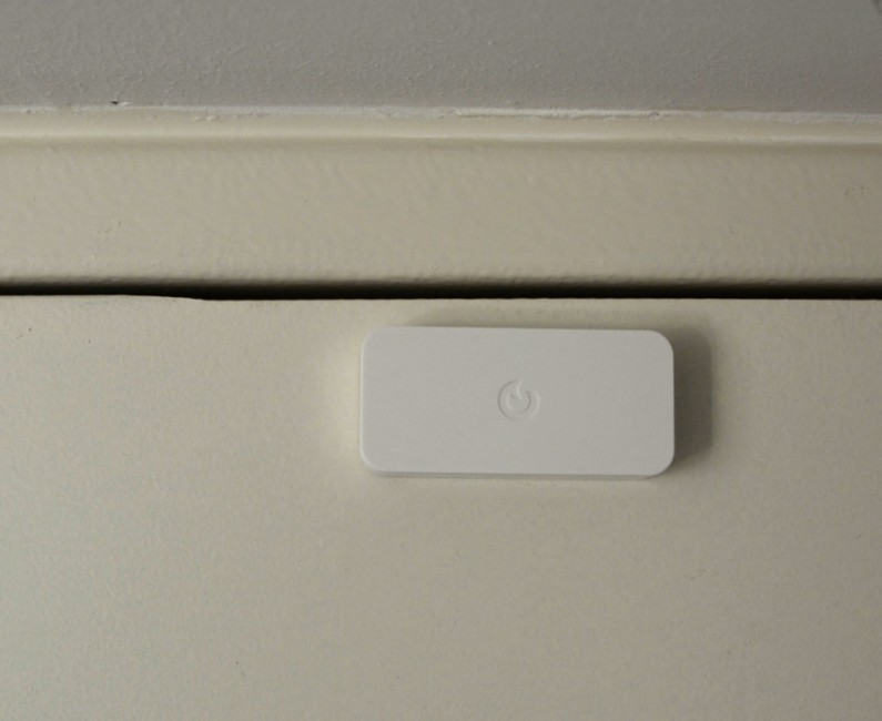 Myfox Home Alarm et security camera test review essai avis Intellitag